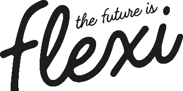 The Future is Flexi logo